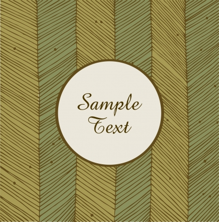Card with linear network texture  Banner round frame  Background for holidays, arts, crafts, cards, scrapbooks, setting table, invitations, prints Stock Vector - 17088465