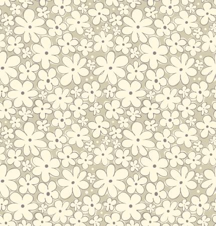 veters: Licht bloemen naadloze patroon Madeliefjes natuurlijke achtergrond voor behang, ambachten, deksels, textiel, geschenken