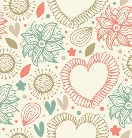 Patrón Floral Transparente Fondo Lindo Luz Con Flores