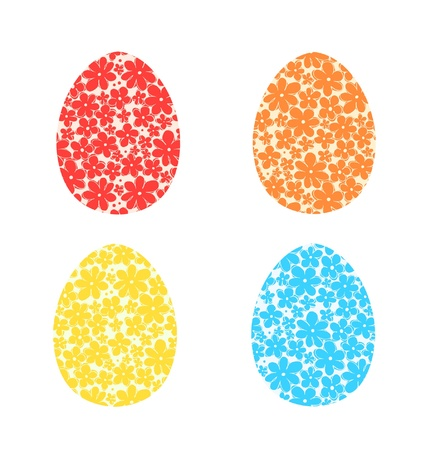 Collection of eggs design  Set with Easter decoration Stock Vector - 17933391