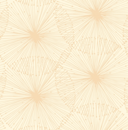 pellucid: Bright radial elements. Seamless background for patterns, cards, textile, wallpapers, web pages