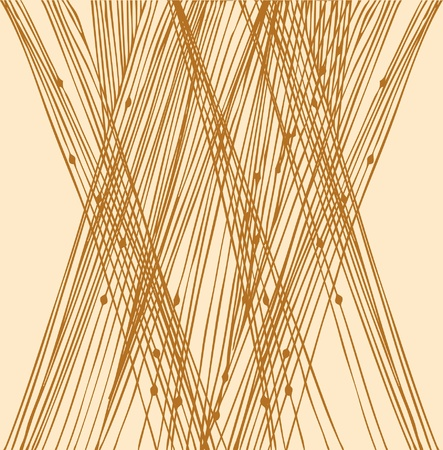 sandy: Sandy linear network pattern Illustration