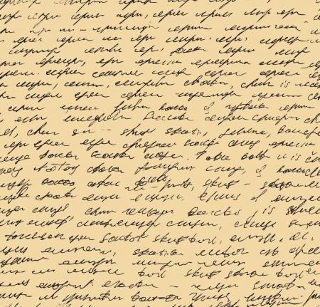 vellum: Lettera modello di script senza soluzione di continuit� sfondo Sketch di scrivere template Vettoriali