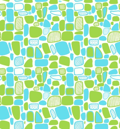 Shiny abstract geometric pattern  Decorative tiles  Light seamless decorative texture Stock Vector - 19018248