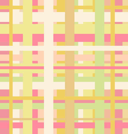 Seamless geometric linear pattern. Endless abstract background Vector