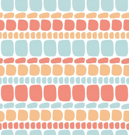 smithereens: Abstract decorative seamless pattern  Light brickwork texture  Mosaic background