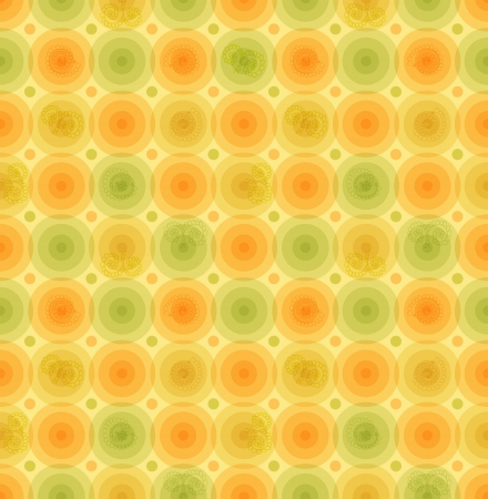 Vector multicolor retro background  Vintage pattern with glossy circles  Geometric template for wallpapers, covers, packaging
