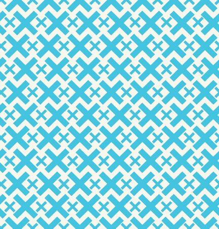 Seamless geometrical background  Chequered colorful pattern Vector