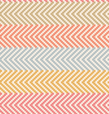 cotton fabric: Decorative rural pattern in pastel colors  Pale seamless countryside background