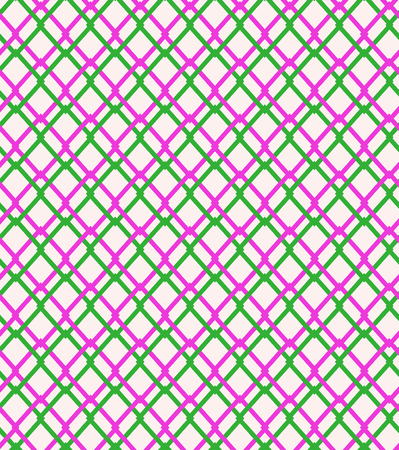 Seamless geometric netting pattern  Grating  Wrapping paper design  Illustration