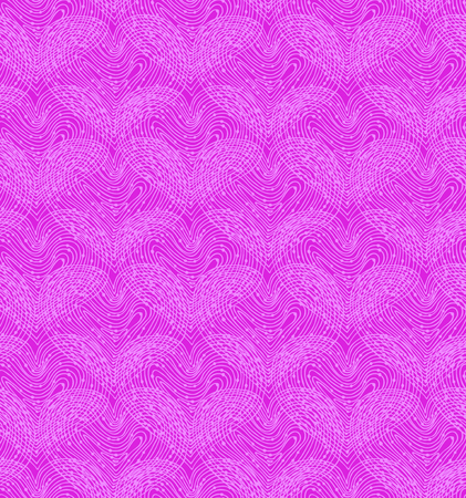 seamless bacground: Pink seamless pattern with linear hearts  Decorative netting texture  Abstract lace background Illustration
