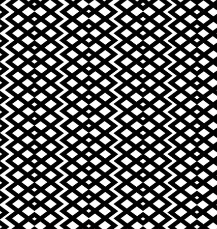 interweaving: Geometric seamless pattern  Netting structure  Vector abstract pattern