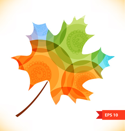 pulsation: multicolor maple leaf