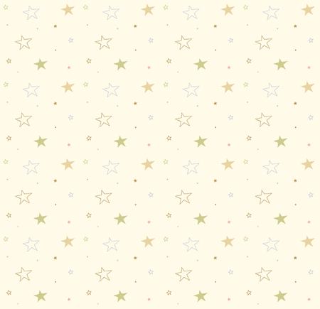 Estrellas en el fondo transparente. Vector lindo patrón. Textura decorativa