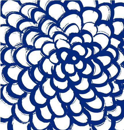 Drawn mandala. Abstract texture