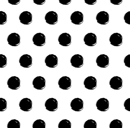 Dotted vector texture. Abstract ink pattern. Decorative background for textile, wallpapers, cover design, web pages Ilustração