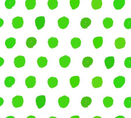 Aquarel groene achtergrond. Verf gestippelde textuur. Handgetekende vector patroon met penseelstreken Stock Illustratie