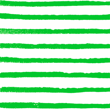 Watercolor green background. Paint texture. Handdrawn vector pattern with rows of horizontal lines Banco de Imagens - 87049556