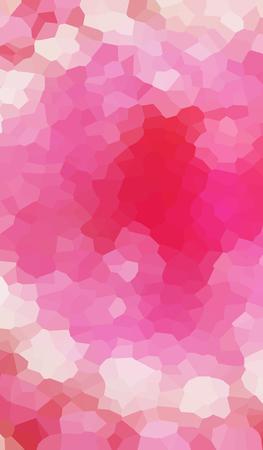 crimson: Pink beige crimson triangular polygon vector pattern background.