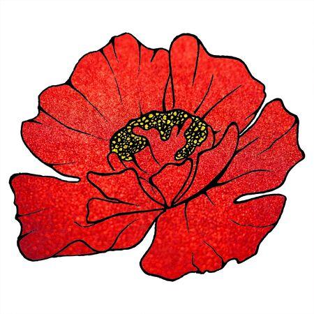 scarlet: Red scarlet metal glitter poppy background texture.