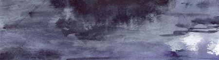 navy blue background: Watercolor navy blue black grey gray rain wet asphalt texture background.