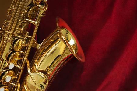 saxophone: evento concierto Foto de archivo