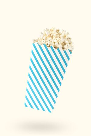 thespian: A blue packet of popcorn