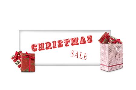 Weihnachtsverkauf Standard-Bild - 66308637