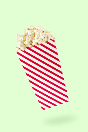 thespian: A packet of popcorn Stock Photo