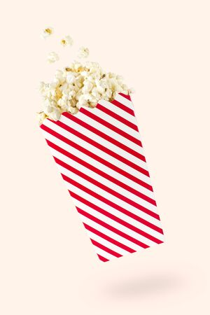 thespian: Flying popcorn with red-touched packet