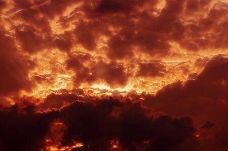 lurid: Abstract shot of the aurora - lurid sky