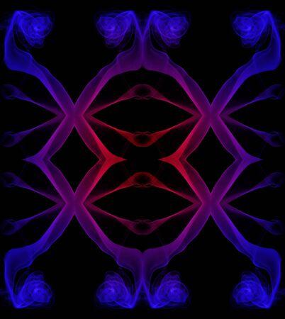 frizz pattern: shapes Stock Photo