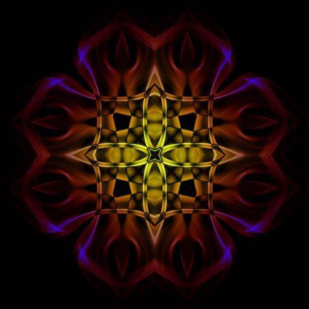 frizz pattern: rosette