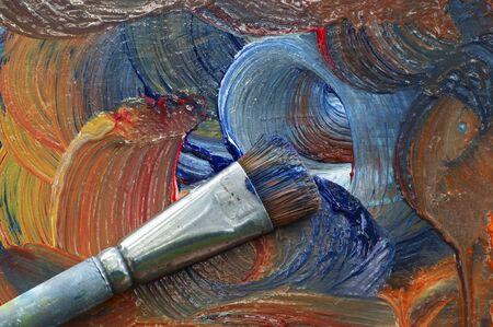 craftsmanship: painting in oil colours - craftsmanship