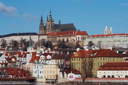 Prague castle Standard-Bild