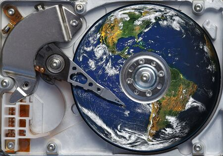 gigabytes: the whole world on the harddisc