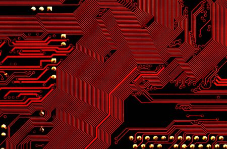 manipulated: motherboard - technology abstract