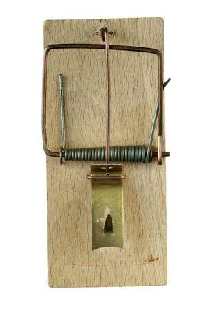 ancienne souricière - animal piège Banque d'images - 4601223