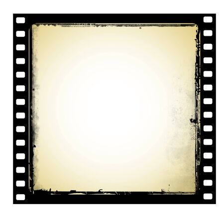 Old film frame in grunge style Stock Photo - 5117683