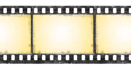 Old film strip in grunge style Stock Photo - 5257463