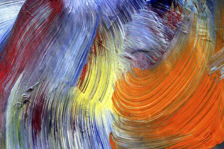 brush strokes - run colors - craftsmanship