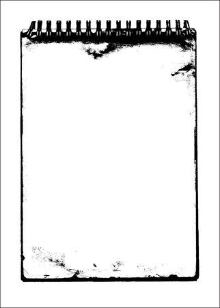frame in grunge style - vector Stock Vector - 5558903