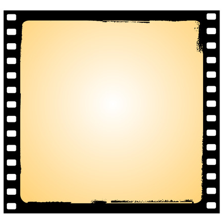 film frame in grunge style Stock Vector - 5585445
