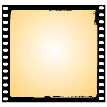 film frame in grunge style Stock Vector - 5585445