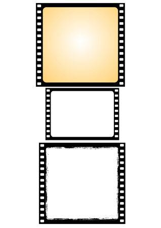 vaus film frames - vector Stock Vector - 5585449