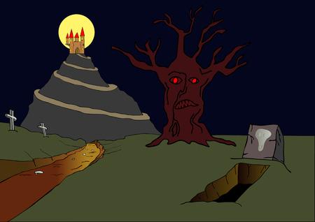 obscure: Castillo encantado en la colina