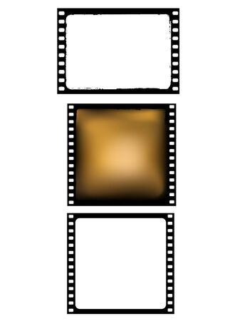various film frames Stock Vector - 5629316