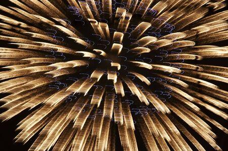 convulsion: explosi�n - fuegos artificiales  Foto de archivo