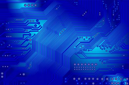 circuitos impresos - placa base - vector