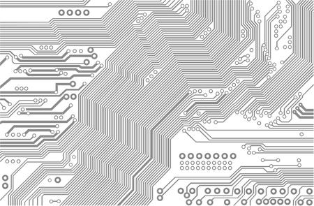 motherboard - vector Vector